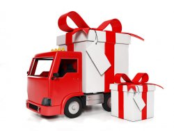 Привозим подарки бесплатно