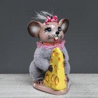 """Копилка """"Мышка с сыром"""""""