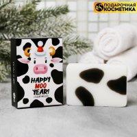 Мыло Happy Moo Year, сладкий миндаль