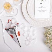 Лепестки роз, белые, 100 шт