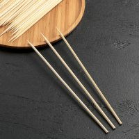 Шпажки бамбуковые, 40 см, 45 шт