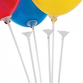Палочка с розеткой для воздушного шара