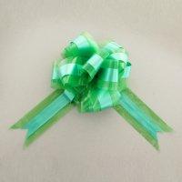 Бант шар №7 пластик двойной, зеленый