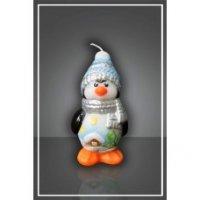 Свеча малая Пингвин
