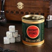 """Набор камней для виски """"Drink and chill"""", 9 шт."""