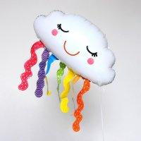 """Шар фольгированный 24"""" «Облако с дождиком»"""