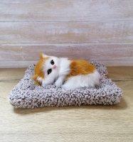 Котенок на подушке