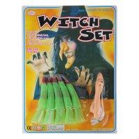 Набор «Ведьмочка», пальцы, нос