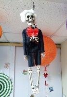 """Декор """"Скелет в образе"""""""