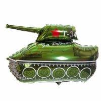 """Шар фольгированный """"Танк Т-34"""" 30"""" ФМ"""