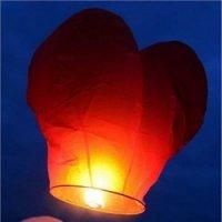 Небесный фонарик, сердце. МИКС