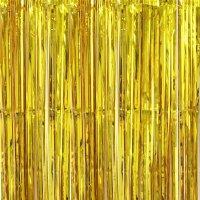Дождик для фотозоны 1х2 м. Золото