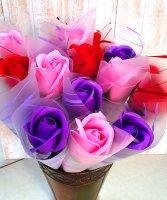 Мыльная роза подарочная