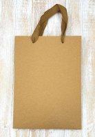 Пакет подарочный Крафт, 15х20х6 см