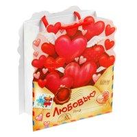 """Пакет-открытка """"Письмо с любовью"""""""