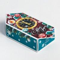 Сборная коробка-конфета «Куранты», 14×22×8 см